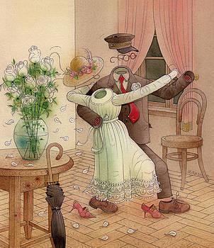 Kestutis Kasparavicius - The Dance