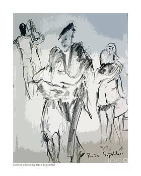 The drama of the dance by Reza Sepahdari