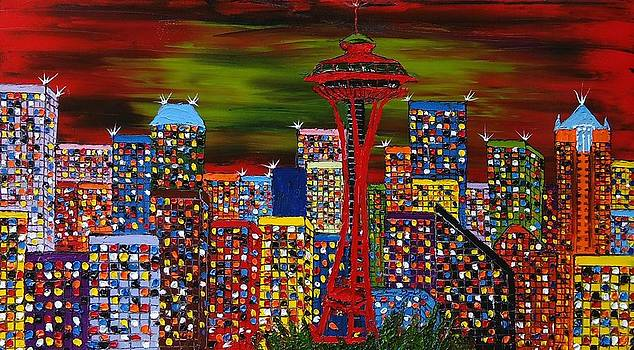 The Emerald City 3 by Portland Art Creations