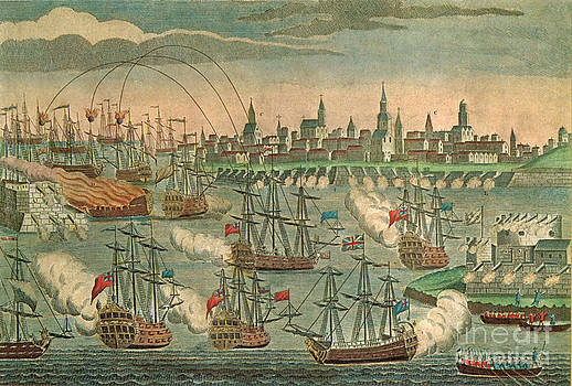 Photo Researchers - The Fall Of Louisbourg 1758