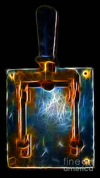 Wingsdomain Art and Photography - The Final Switch - Execution By Electrocution - Electric Art