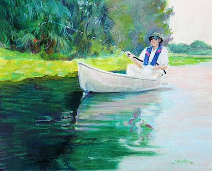 The Fisherman by Sheila Wedegis