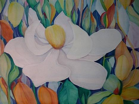 The Flower Smiled by Margaret Pirrouette