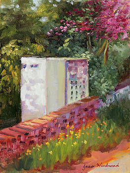 The Garden Wall by Jane Woodward