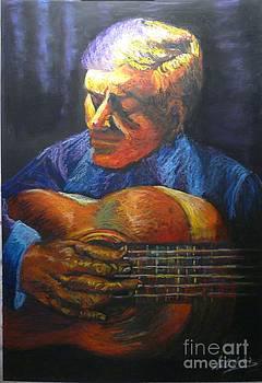 The Guitarrist by Marieve Ortiz