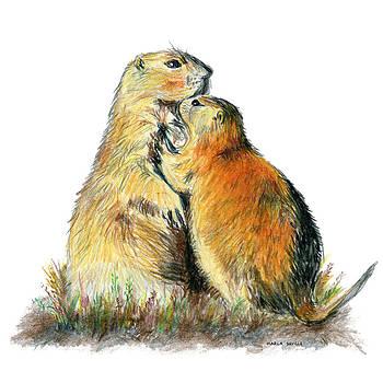 The Hug by Marla Saville