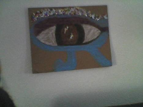 The Kemetic Eye by Antoinette Mboob