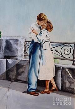 The Kiss by LJ Newlin