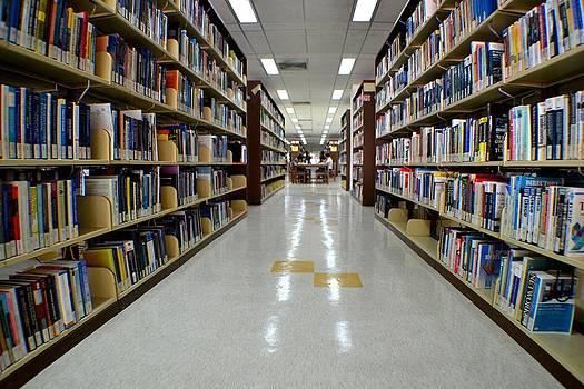 The Library by Ku Azhar Ku Saud