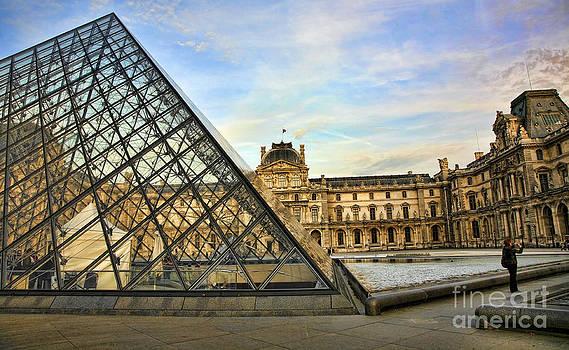 Chuck Kuhn - The Louvre IX