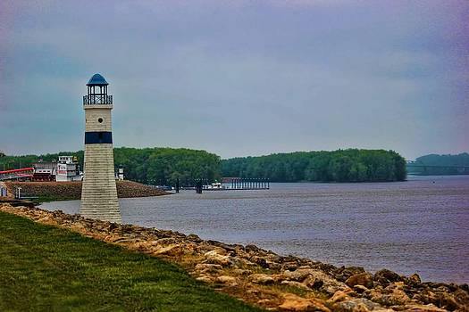 The Mighty Mississippi Lighthouse by Linda Gesualdo