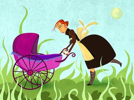 The Mom by Autogiro Illustration