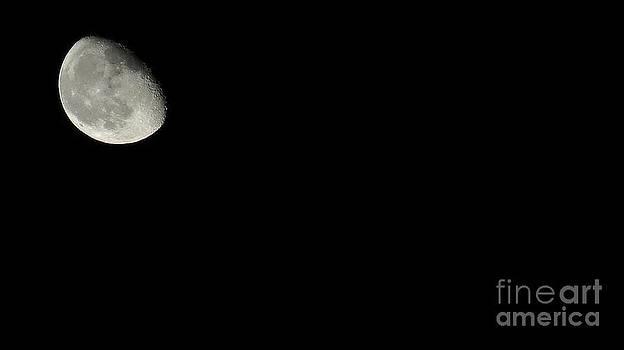 The moon by Kodjo Somana