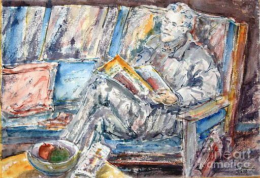 The News Reader by Phong Trinh