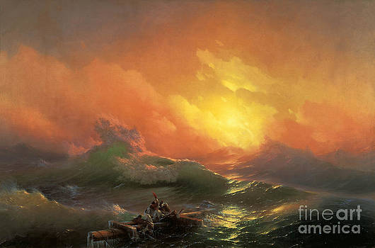 The Ninth Wave by Aivazovsky