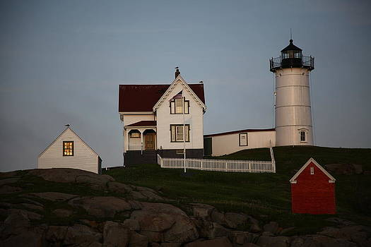 The Nubble Light by Anna McElhany