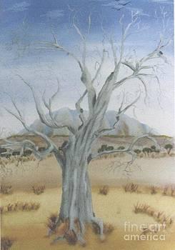 The Old Gum Tree by Debra Piro