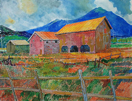 The Old Kitzmiller Farm by Donald McGibbon