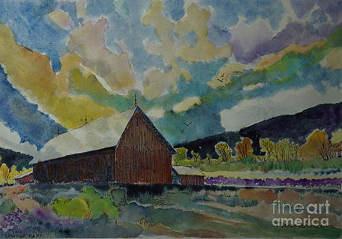 The Old Sawyer Barn by Donald McGibbon