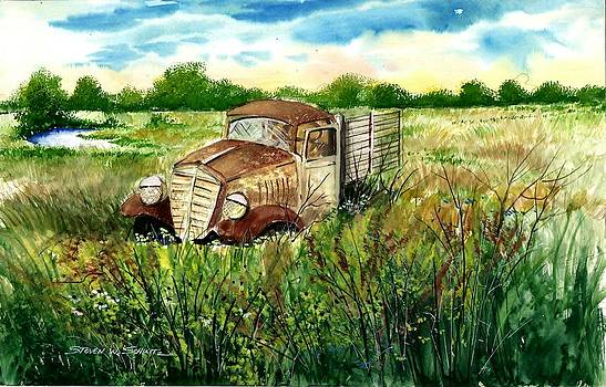 The Old Truck by Steven W Schultz
