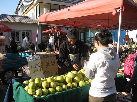 Alfred Ng - the pear seller