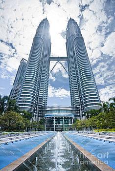 The Petronas Tower by Tomatoskin Kam
