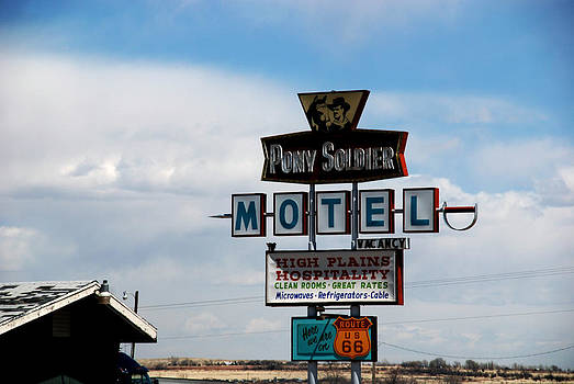 Susanne Van Hulst - The Pony Soldier Motel on Route 66