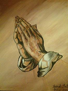The Praying Hands by Dis Art