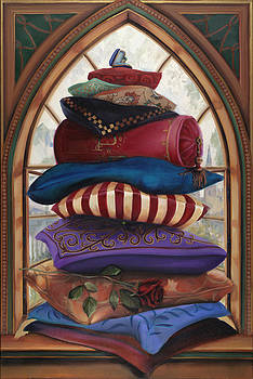 The Princess and the Pea by Louise Montillio