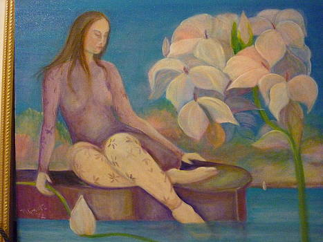 The quietness by Margaret Pirrouette