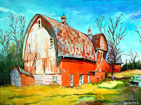 The Red Barn by Debbie Beukema