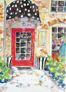 The Red Door by Jennifer Edwards