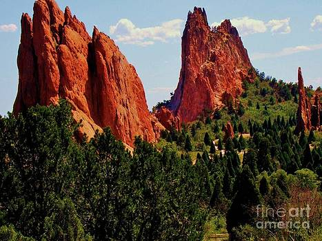 The Red Rocks of God's Garden by Donna Parlow