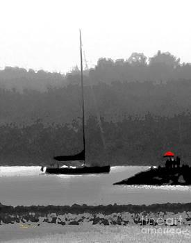 Dale   Ford - The Red Umbrella