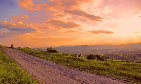 Bogdan M Nicolae - The Road Near Valley