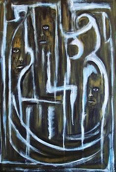 The silence of forgotten by Katerina Apostolakou
