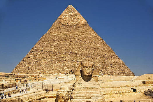 The Sphynx of Giza 2. by Laszlo Rekasi