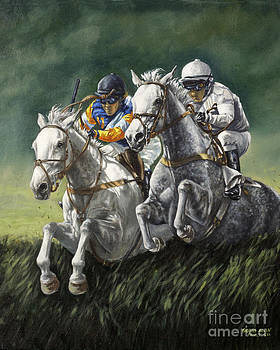 The Steeplechase by Thomas Allen Pauly