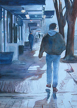 Jenny Armitage - The Sun Peeks Out at 2nd Street
