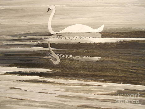 The Swans Song....Melody of Motherhood by Barbara McNeil
