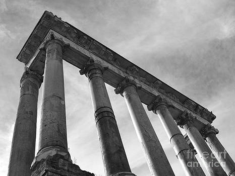 The Temple of Saturn by Chris Hill