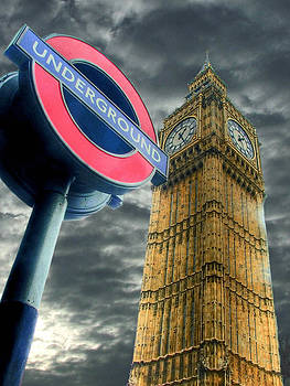 The Tube - Westminster by Colin J Williams Photography
