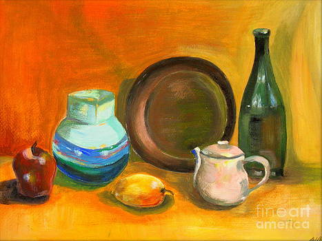 The Village Still Life by Tatjana Andre
