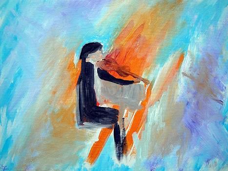 The Violinist by Larry Cirigliano