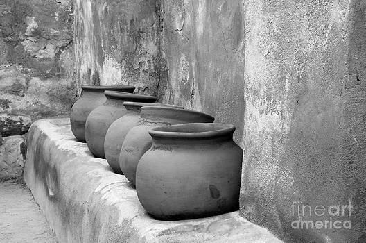 Sandra Bronstein - The Wall of Pots