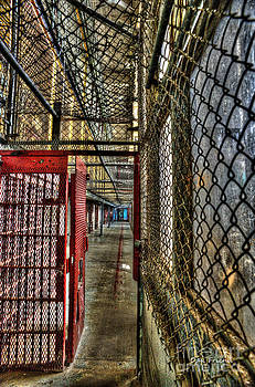 Dan Friend - The West Virginia State Penitentiary cell hallway