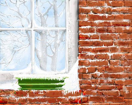 Jim Hubbard - The Window Triptych winter