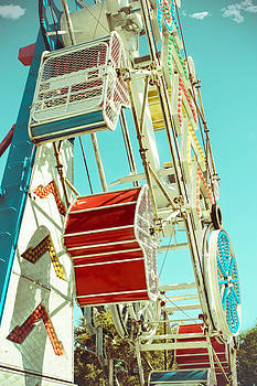 The Zipper Cars Side View by Eye Shutter To Think