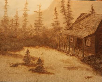 This old house by Sandy DeHaan