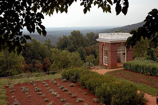 LeeAnn McLaneGoetz McLaneGoetzStudioLLCcom - Thomas Jefferson Monticello Garden
